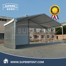 Temporary logistic warehouse tent on hot sale
