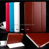 New Product Ultra Slim Luxury Leather Case for iPad 5 Magnetic Smart Flip Case