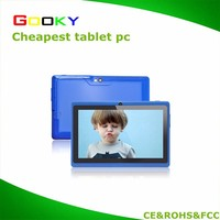 Cheap 7 inch Q88 Tablet PC A33 Quad core Android 4.4 Capacitive Screen Dual Cam 512M RAM 4GB WIFI
