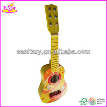 2016 new fashion children wooden acoustic guitar, popular wooden acoustic guitar,hot sale baby acoustic guitar W07H013