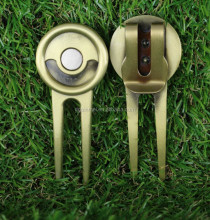 No mold fee antique golf divot tool golf accessories gift