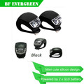 Safety Rear Led Tail Lamp Warning 2 LED Brillant Bicycle Rear Light Wheel Flash Light Bulb