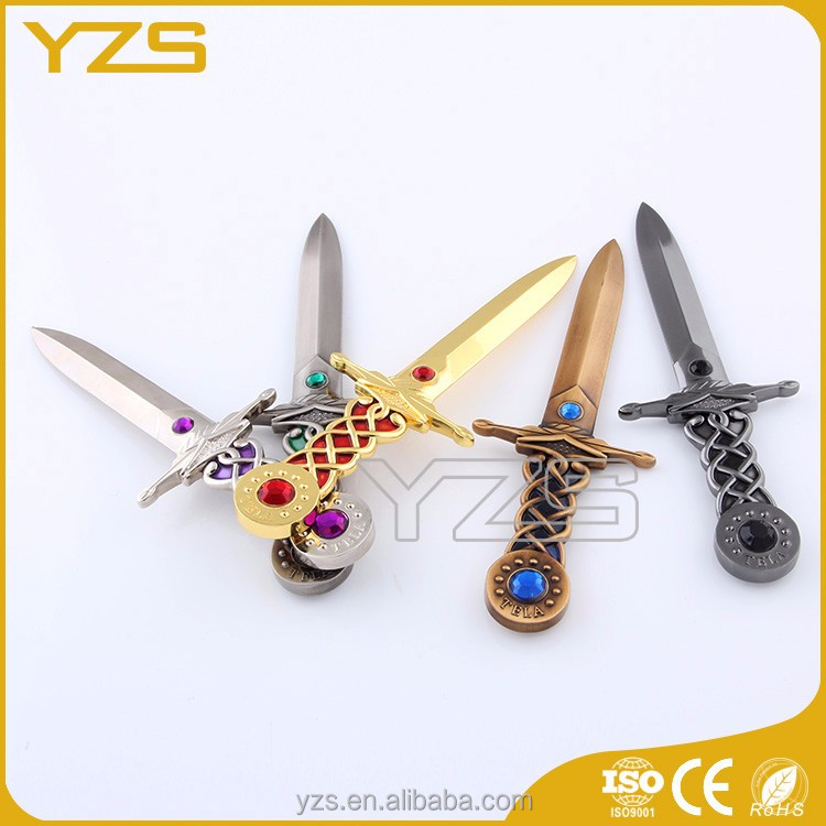 China factory custom different types metal sword