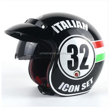 Helmet motorcycle Dot approved classic design open face jet helmet harley helmet motorcycle