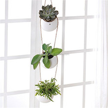 Succulent Plant Hanging Planter Set