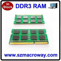 100% compatible ram memory ddr3 4gb 1600mhz sodimm for laptop/notebook