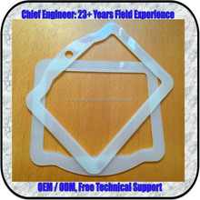 Wear Resistant Injection Molded PA6 Nylon Gasket In Natural Color For Sealing