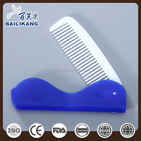 Wholesale Hotel Mens Comb Plastic Folding Hair Brush Hair Growth