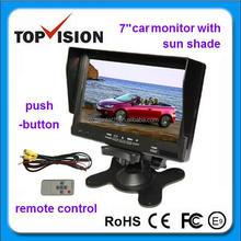 "7"" push-button car headrest monitor"