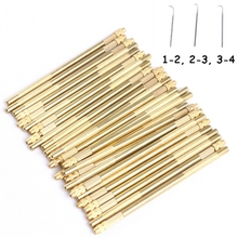 HARMONY Brass Handle Ventilating Needle for Lace Wigs Toupee Closure and Lace Frontal