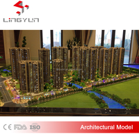 Scale architectural scale models/Scale Architectural plastic models