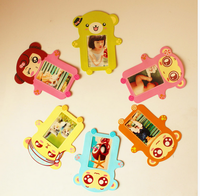 Factory price! Mini Gift Cartoon Wood Picture/Photo Frame Student's/Kids/Children Keepsake/Souvenirs Multi-style