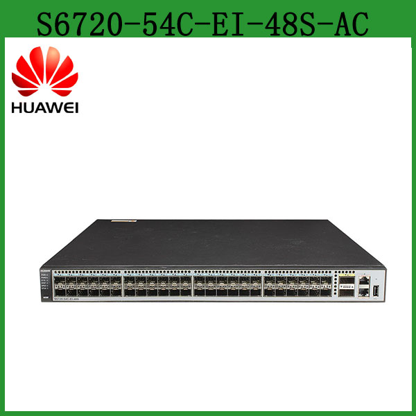 Huawei layer 3 10g Gigabit Ethernet Fiber Optic Switch S6720-54C-EI-48S-AC