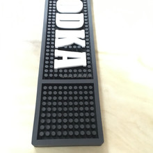 Top Selling High Quality Bar Counter Mat custom rubber beer bar mat soft pvc barmat