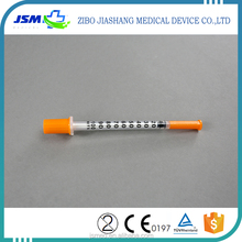 Outstanding quality factory colored insulin disposable sterile syringe
