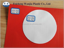 UV resistant PVC gloss material, heavy duty tarpaulin fabric
