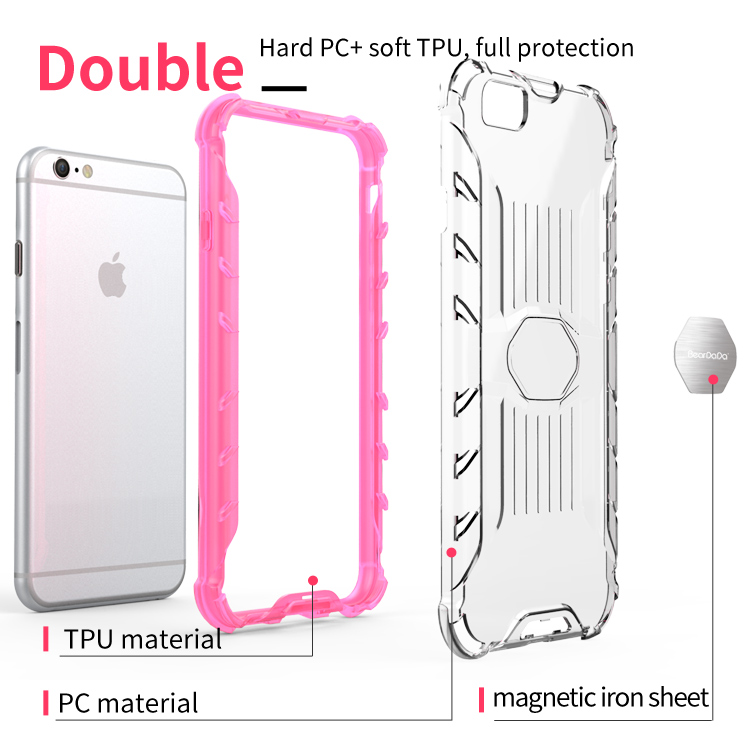Oem Welcome bumper case cover for iphone 6, transparent for iphone 6 phone case