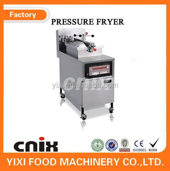 kitchen equipment broasted chicken machine /high pressure food processing equipment