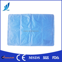 China factory top Quality Medical Reusable Ice Cool Gel Mat Pack