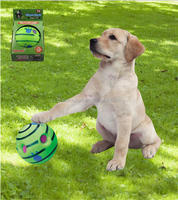 NEW Wiggle Giggle Jiggle Pet Ball Fit For All Size Dogs Suits Indoor& Outdoor