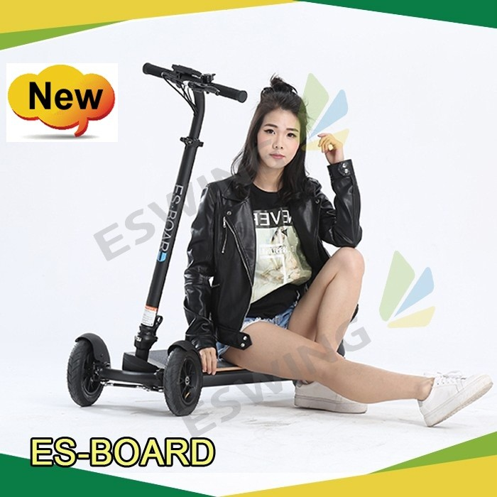 2 Wheel Electric Smart city road foldable Self Balancing Scooter with Handle