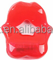 sex products red plastic lip for male