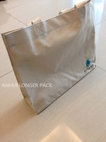 Strong and durable waterproof simple shopping bag tote bag