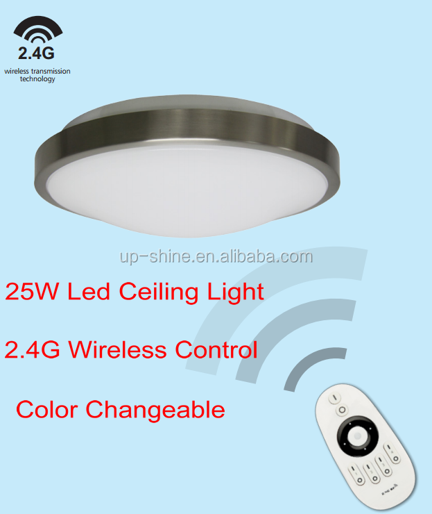 wireless Led ceiling light 25W led Oyster ceiling light indoor led lighting SAA CE ROHS approved