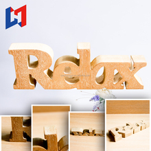 Custom Wedding wood decor / home decoration wooden craft / wooden MDF alphabet letter pieces