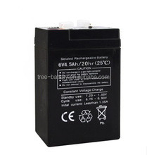 Free Maintenance lead acid battery 6v 4.2ah rechargeable battery