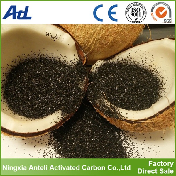 water treatment using activated coconut shell charcoal