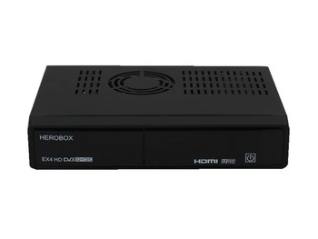 2016 Newest New! herobox EX4 HD Linux OS combo DVB-S2+T2/C Satellite TV Receiver