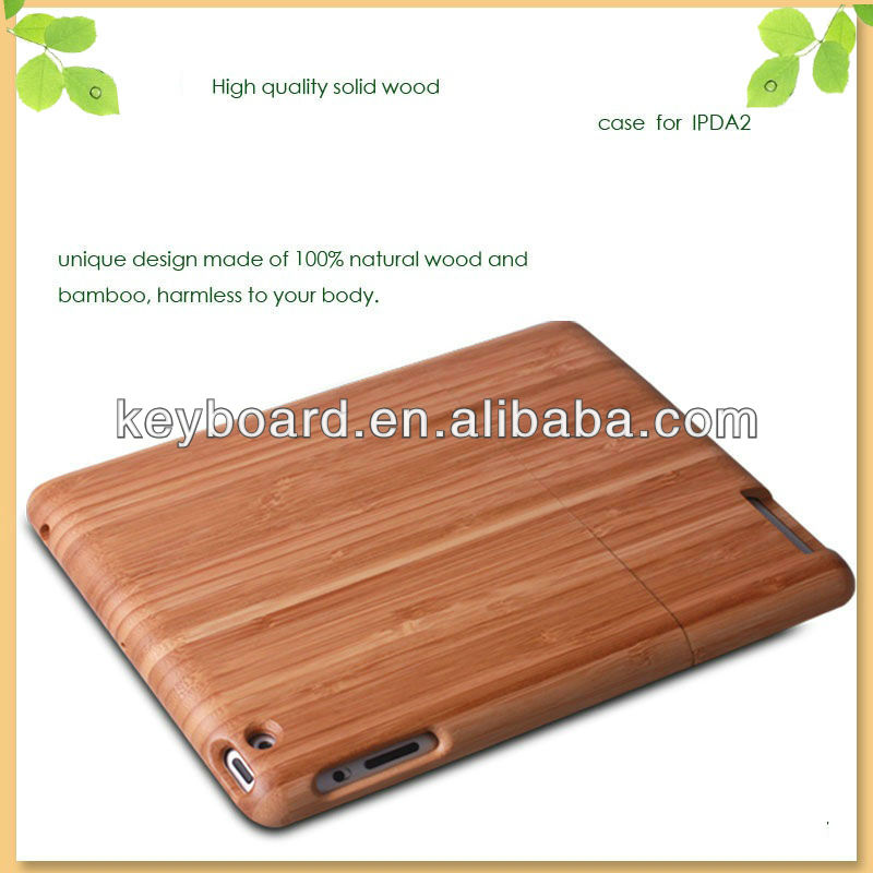 Factory wholesale gift for ipad air case in wood