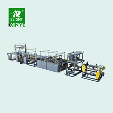 Automatic computerized draw tape garbage plastic bag making machine production line with servo motor control