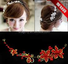 korean style wedding ladies tiaras bridal girls lover crown hair jewelry