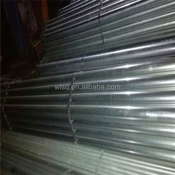 bs1387 en10255 astm a53 b hot dipped galvanized steel pipe gi pipe seamless pipe sizes mm inch