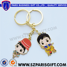 Good Quality Popular Keychain Promotional Gifts Color Printing Custom Key Chains