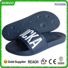 RW29996,Fashion Custom New Mould Open Toe House Slide Sandals, Soft Sole Slippers, Men Slide Sandals