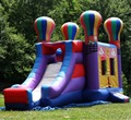 Balloon inflatable bouncy slide/inflatable bouncer for sale
