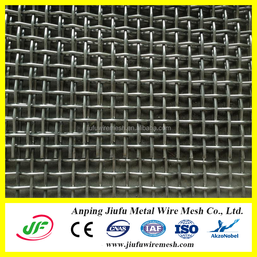 Anping steel crimped wire mesh price