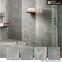 Cement Tile Cement Tile Direct From Foshan Ebro Ceramic Co Ltd - Ceramic tile that looks like cement tile