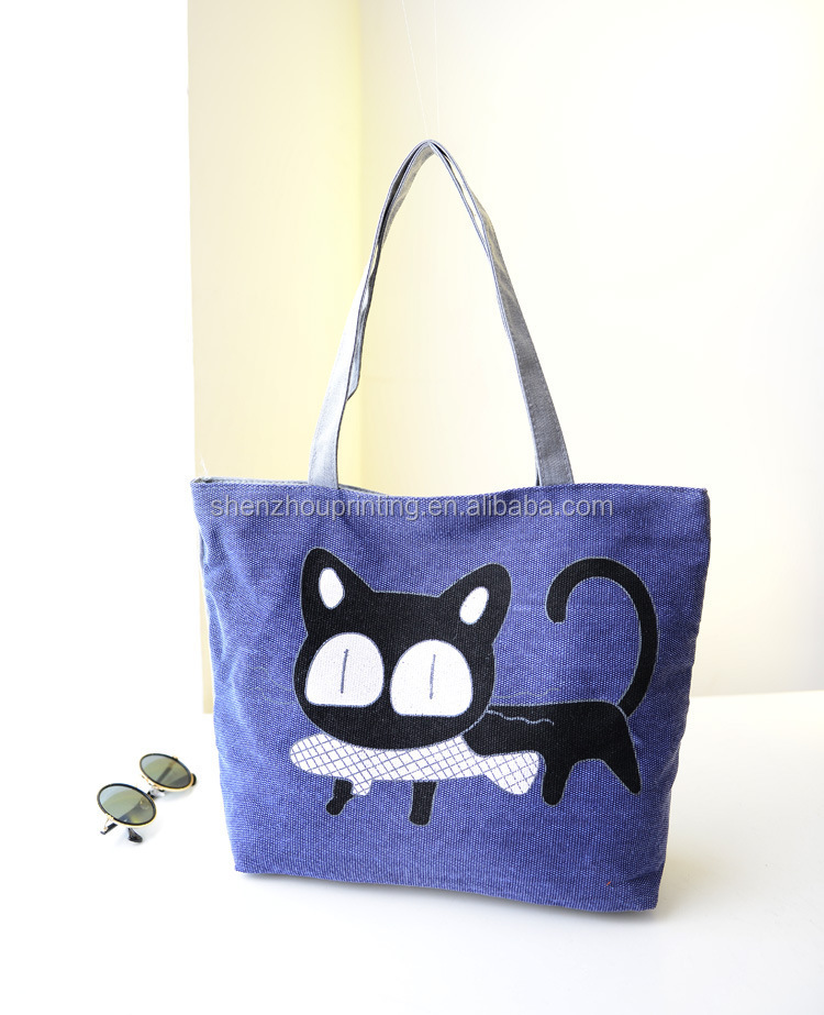 HOT! New Arrival Art Tote Cotton bag