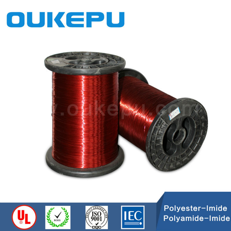 China enamel covered electrical widing wire With Long-term Service