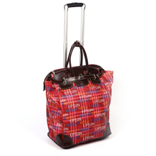Wheeled Full Print Fashion Luggage Laptop Large Capacity Trolley Bag for Easy Trip