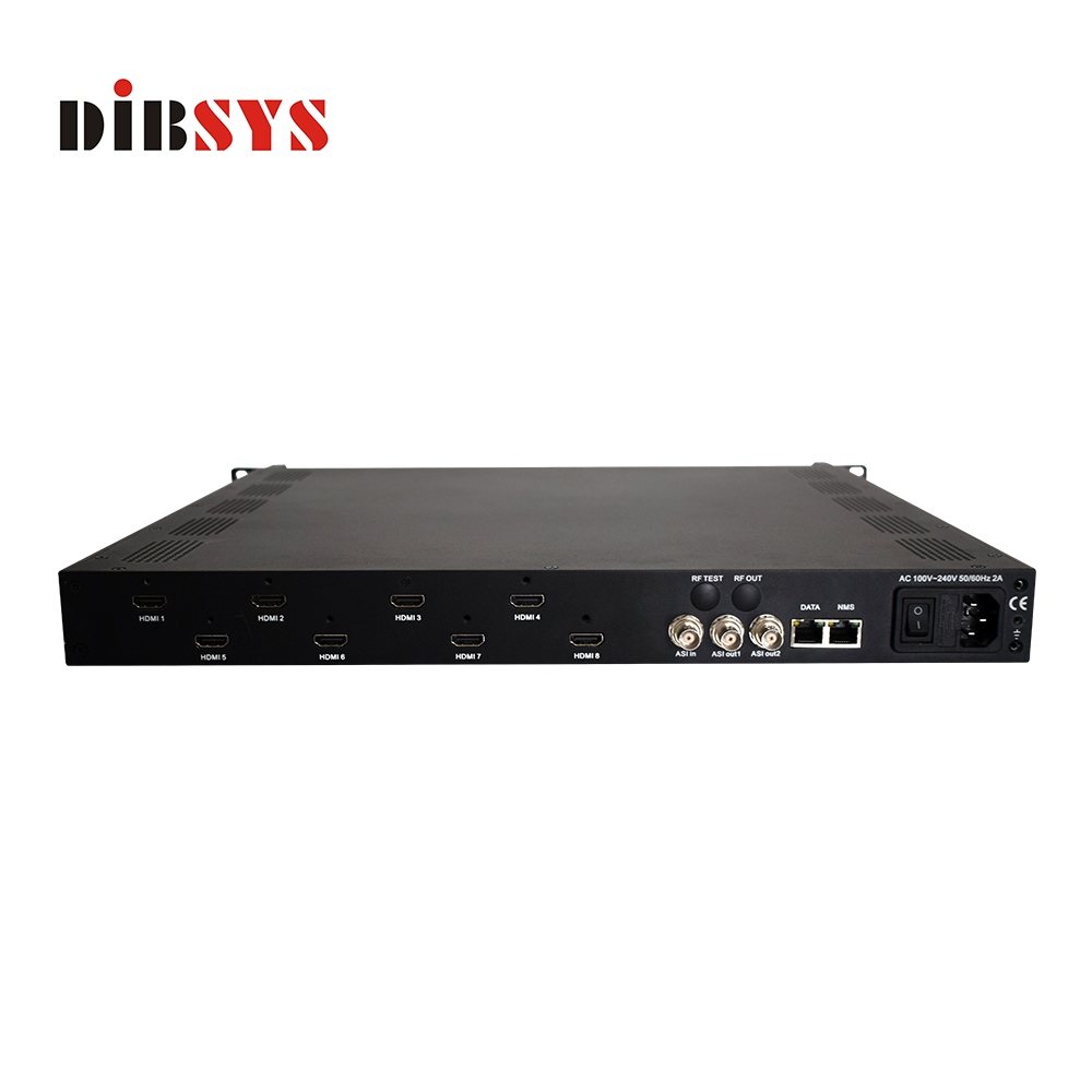 Alibaba Top Sale 8 In 1 MPEG4 HDMI ASI IP Video Encoder H.264 To Ethernet IPTV Hardware Cable TV Digital Encoder