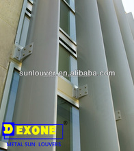 Airfoil aluminum brise soleil with elliptical for building facade window