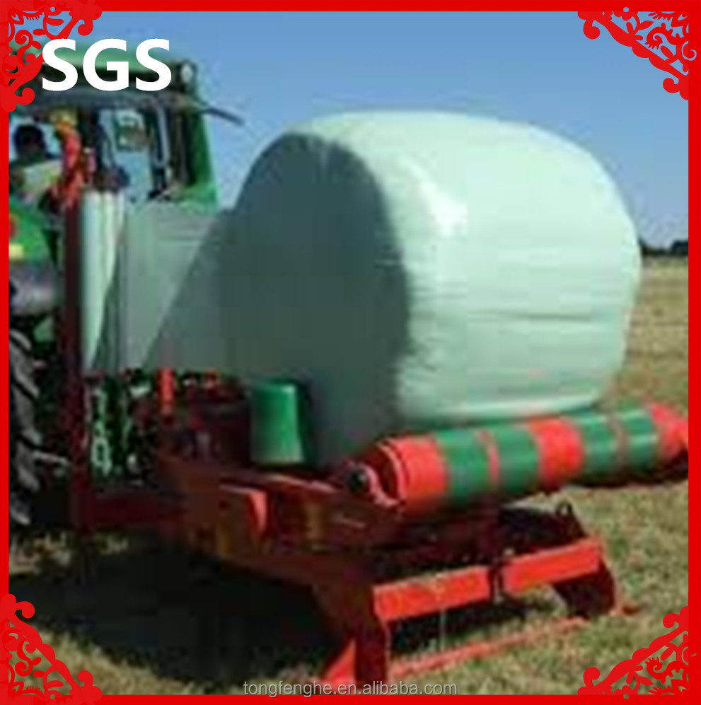 HOT SALE!Green/Black/White Bale Wrap Plastic/Wrapping Film