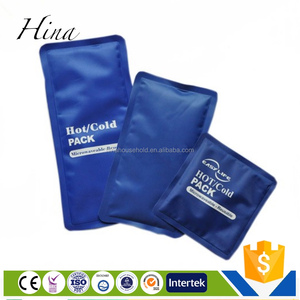 Customized flexible hot cold gel pack shoulder ice wrap ice pack reusable