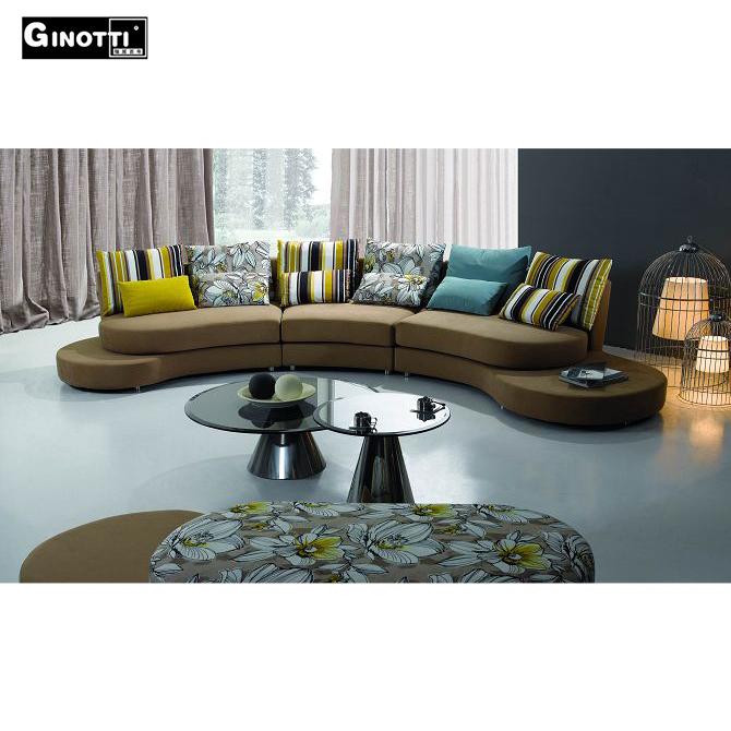 Italiaanse stijl half moon stof sofa woonkamer sofa product id ...