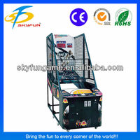 Street basketball indoor basketball shooting game machine